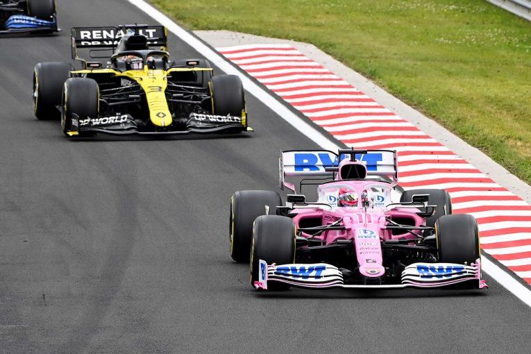 F1 | ルノーF1、ハンガリーGPでもレーシングポイントのブレーキダクトに抗議