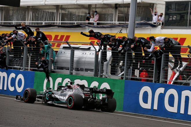 2020年F1第3戦ハンガリーGP ルイス・ハミルトン(メルセデス)が優勝