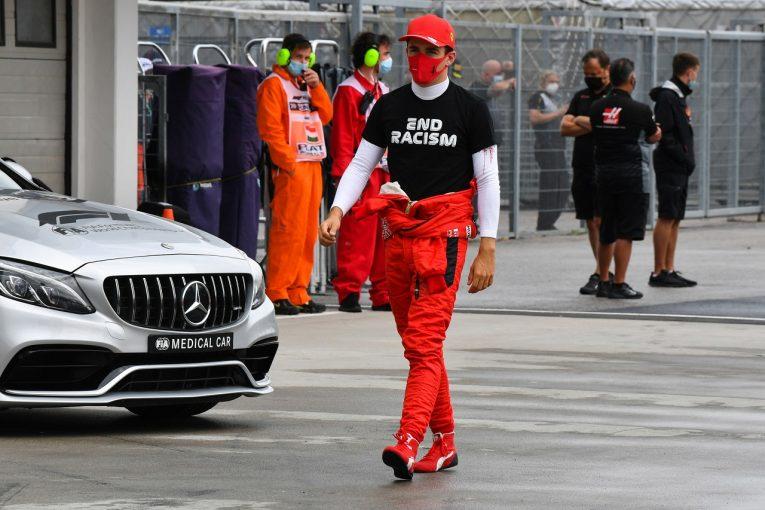 F1 | ルクレール11位「マシンが昨日とはまるで別物。すごく乗りづらかった」フェラーリ【F1第3戦決勝】