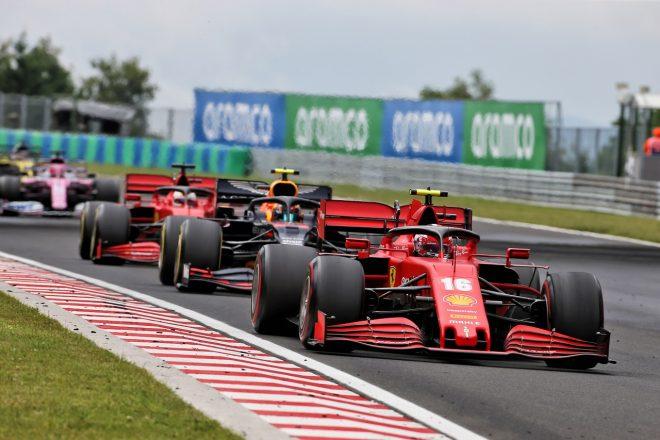 2020年F1第3戦ハンガリーGP日曜 シャルル・ルクレール(フェラーリ)