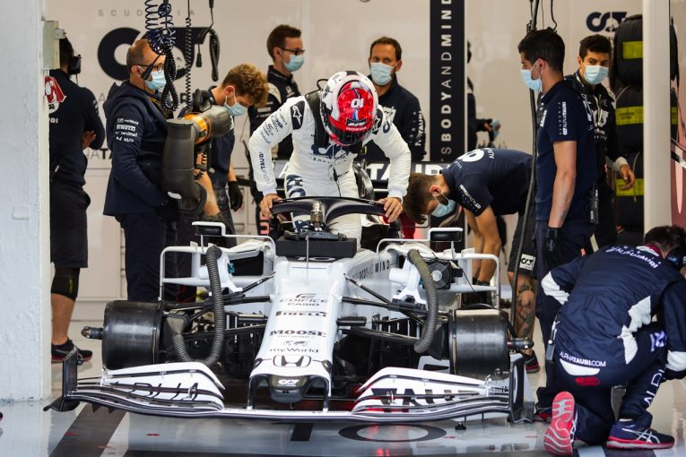 F1 | ガスリー、ギヤボックストラブルでリタイア「常に問題を抱え苦しい週末」アルファタウリ・ホンダ【F1第3戦決勝】