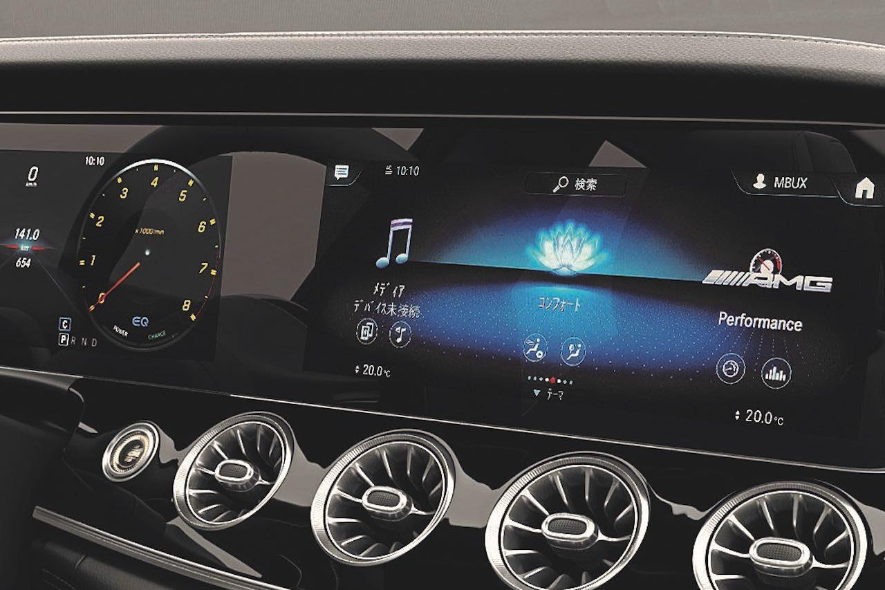 """AMG最高峰サルーン『メルセデスAMG GT 4ドアクーペ』にも""""MBUX""""を標準搭載"""