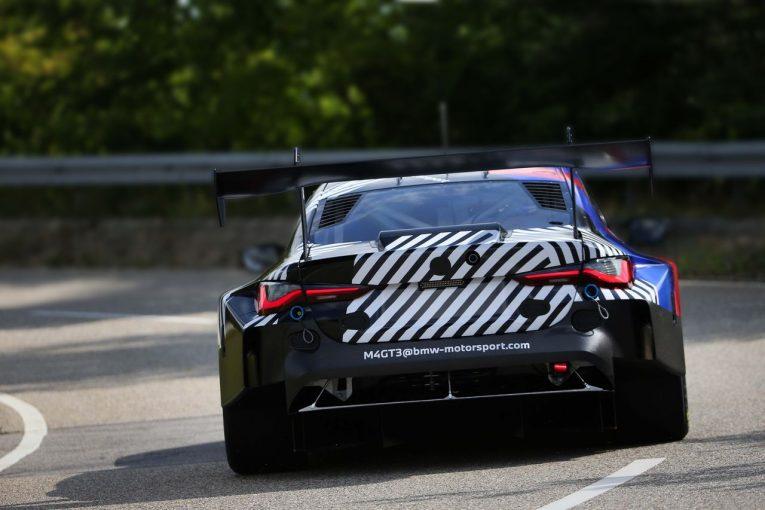 ル・マン/WEC | 2022年登場予定『BMW M4 GT3』がロールアウト。初ドライブはファーフス
