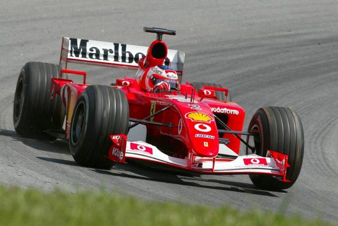 2001年F1第3戦ブラジルGP ルーベンス・バリチェロ(フェラーリ)