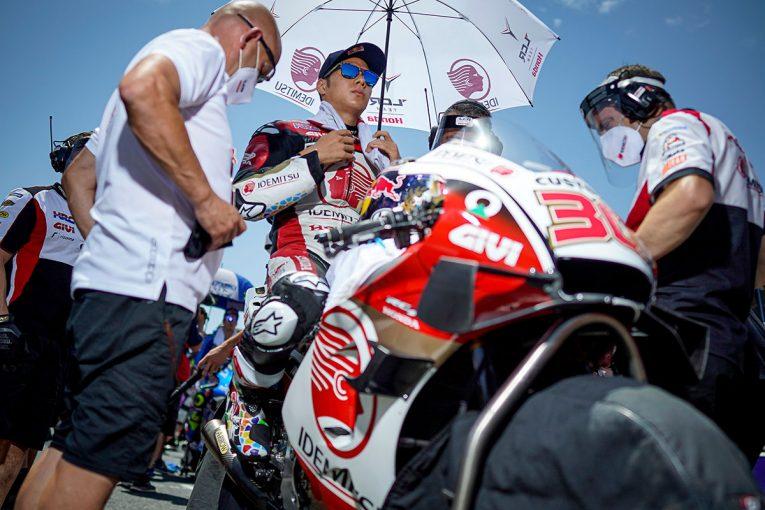 MotoGP   自身ベストリザルト4位の中上「やっとここまでこれたという大きな自信になった」/MotoGP第3戦