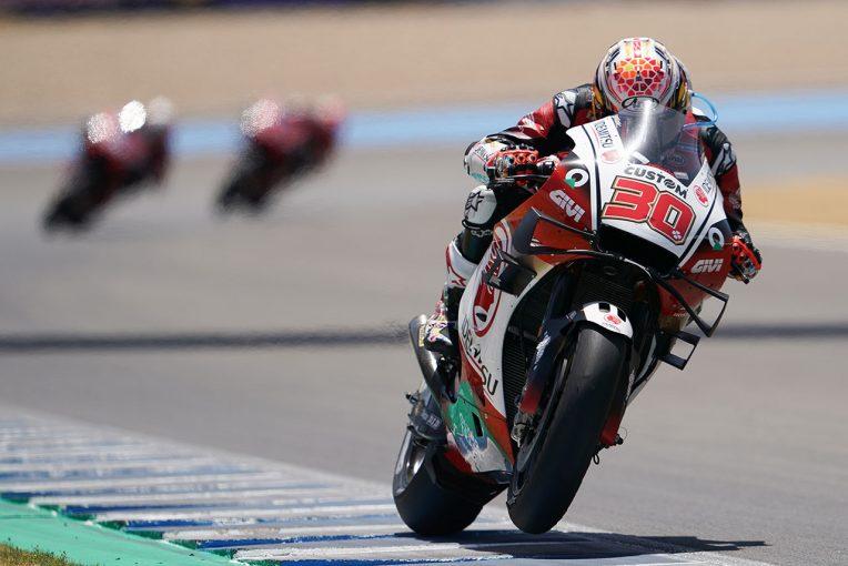 MotoGP | MotoGP第3戦:表彰台まで0.5秒。4位を獲得した中上「マルケス兄のライディングスタイルに挑戦した」