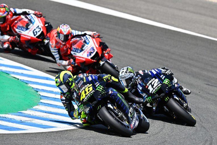 MotoGP | ヤマハのロッシ「本当に長い戦いだった。表彰台は最高の気分」/MotoGP第3戦アンダルシアGP決勝コメント