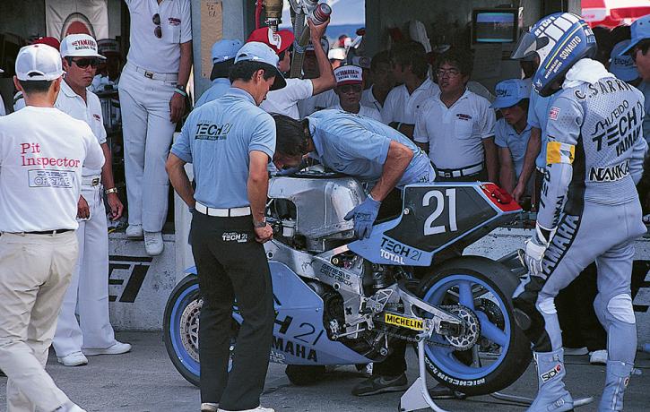 1986年ヤマハYZF750