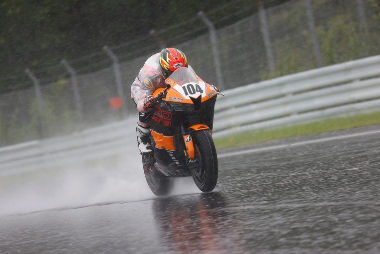 MotoGP | ヘビーウエットでもヤマハファクトリーが1-2/全日本ロードSUGO公開テスト初日