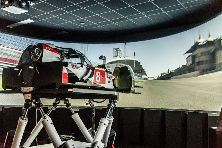 ラリー/WRC   【動画】将来はル・マンに? WRC王者オジエ、トヨタのシミュレーターでTS050初ドライブ
