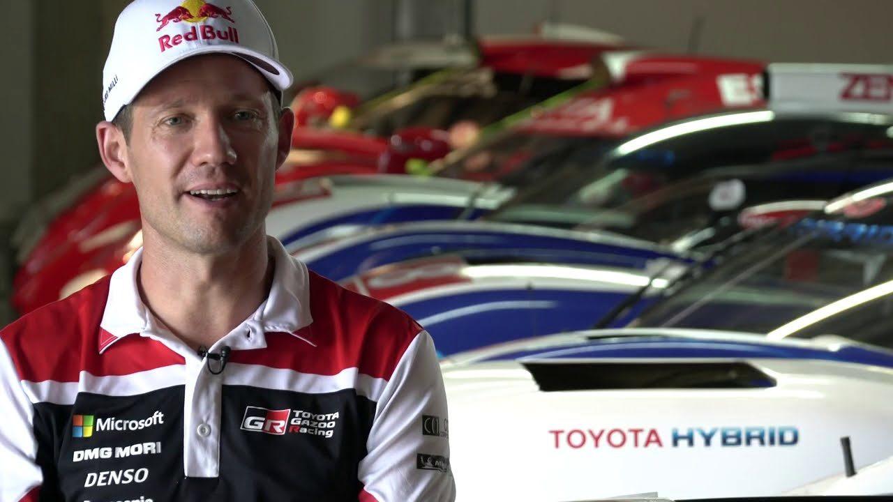 【動画】将来はル・マンに? WRC王者オジエ、トヨタのシミュレーターでTS050初ドライブ