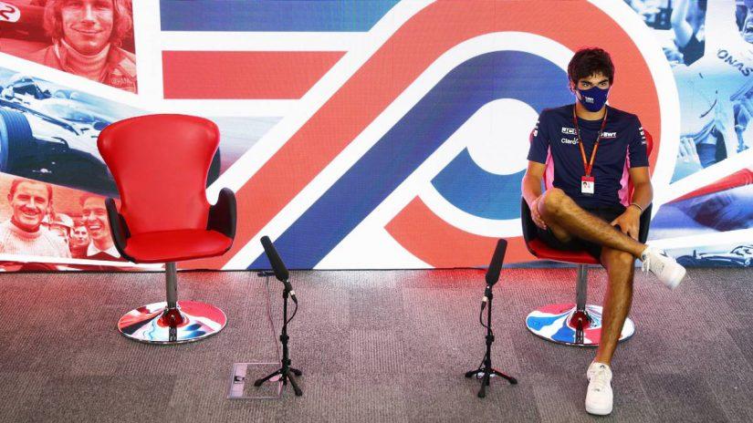 F1 | F1イギリスGP木曜会見:急遽ひとりで会見に臨んだストロール「僕たちが2番目に速いチームだったことは確かだった」