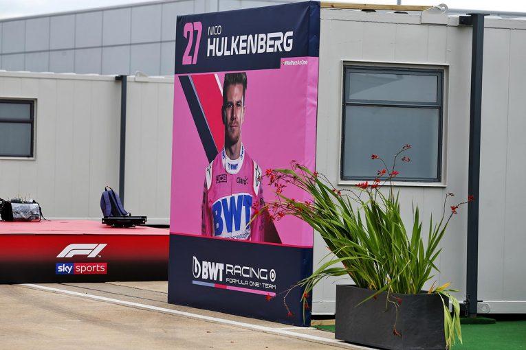 F1 | 【気になる一言】レーシングポイント代表、代役ヒュルケンベルグの陰性結果が出たのは「セッション開始15分前だった」