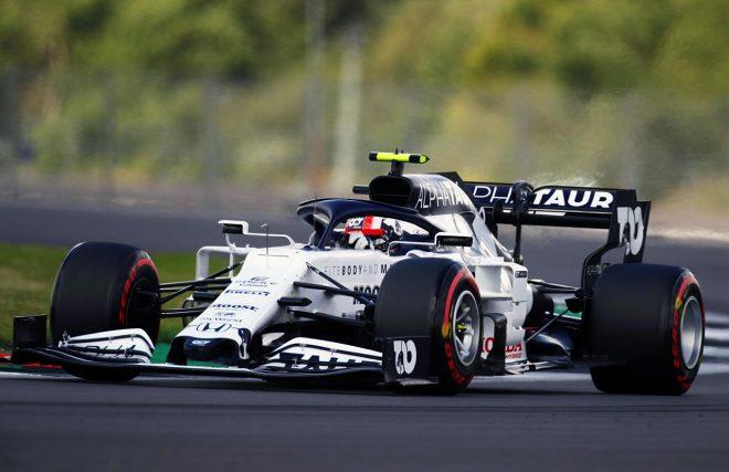 2020年F1第4戦イギリスGPピエール・ガスリー