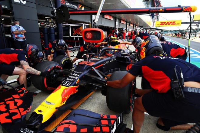 2020年F1第4戦イギリスGP土曜 アレクサンダー・アルボン(レッドブル・ホンダ)