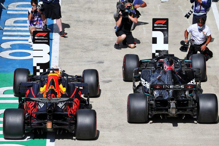 F1   レッドブル代表、2016年以来の好結果も「メルセデスとの大差に悔しい思い」【F1第4戦予選】
