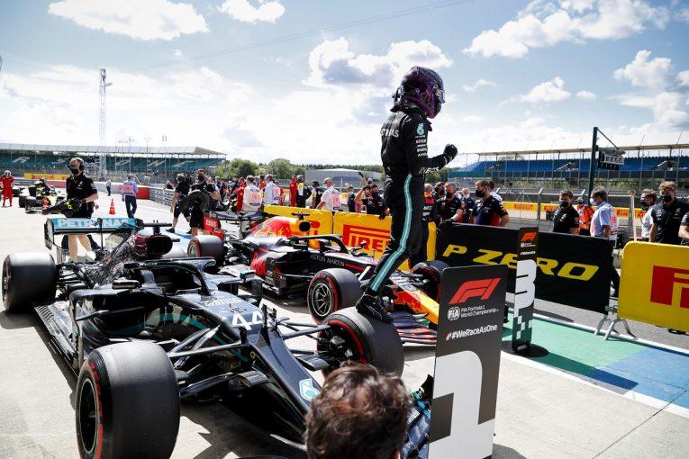 F1 | ハミルトン、スピンの後、コースレコードでポール「気持ちをリセットするのが大変だった」メルセデス【F1第4戦予選】