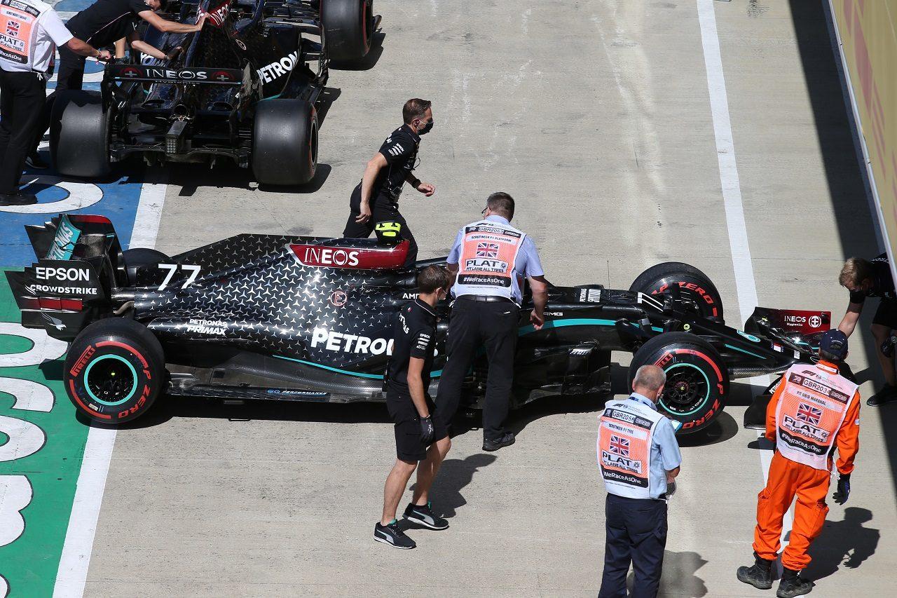 2020年F1第4戦イギリスGP バルテリ・ボッタス(メルセデス)