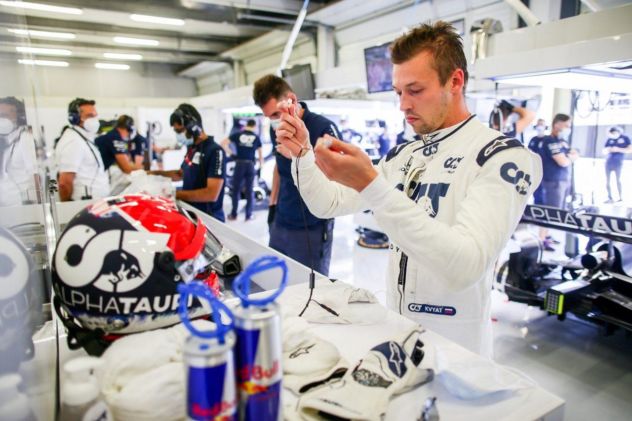 2020年F1第4戦イギリスGP ダニール・クビアト(アルファタウリ・ホンダ)