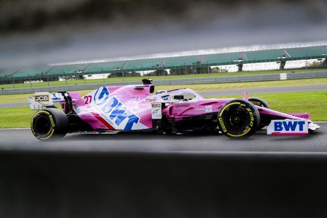 2020年F1第4戦イギリスGP ニコ・ヒュルケンベルグ(レーシングポイント)