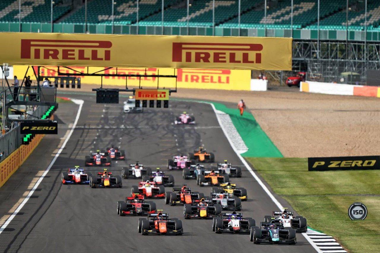 FIA-F2第4戦イギリス レース2:ティクトゥムがポール・トゥ・ウィン。松下信治が7位で連続入賞