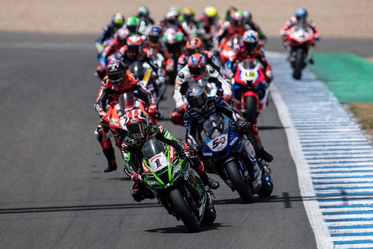 2020年SBK第2戦スペイン決勝レース1