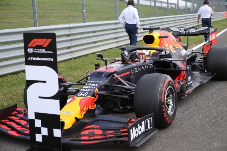 F1 | ホンダが3戦連続表彰台&3台入賞「高速サーキットでのこの成績はポジティブ」と田辺TD【F1第4戦決勝】