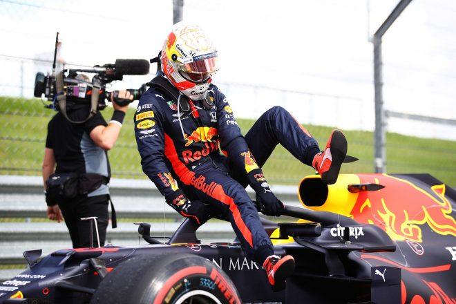 F1   レッドブル代表「最後のタイヤ交換をしなければ、フェルスタッペンは走り切れなかったかもしれない」【F1第4戦決勝】