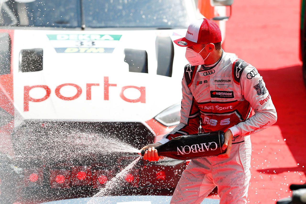 DTM開幕戦スパ:ミュラーとの一騎打ちを制し王者ラストがレース2を勝利