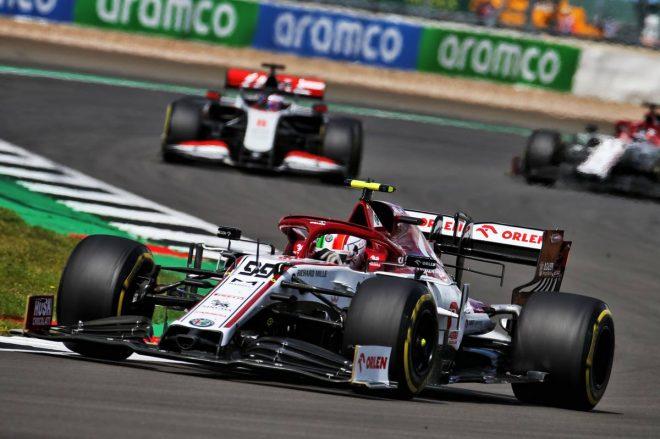 2020年F1第4戦イギリスGP アントニオ・ジョビナッツィ(アルファロメオ)