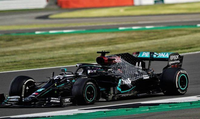 2020年F1第4戦イギリスGP ルイス・ハミルトン(メルセデス)