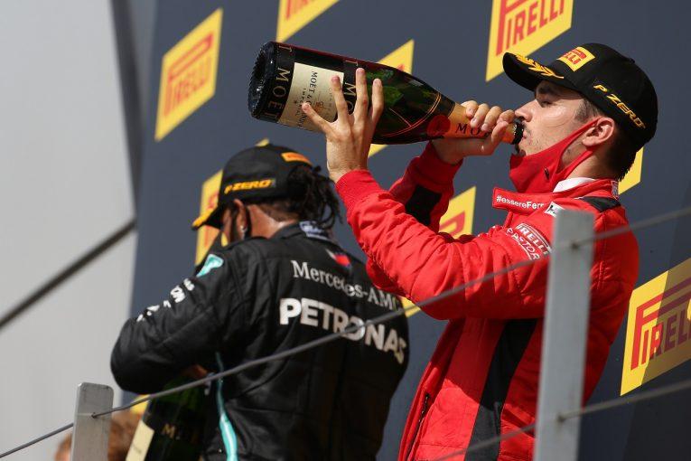 F1 | ルクレール、今季2回目の表彰台「運がよかっただけじゃない」フェラーリ【F1第4戦決勝】