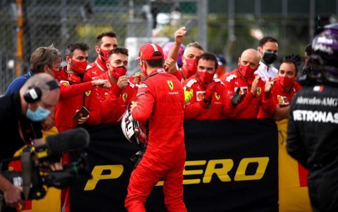 2020年F1第4戦イギリスGP シャルル・ルクレール(フェラーリ)が3位獲得