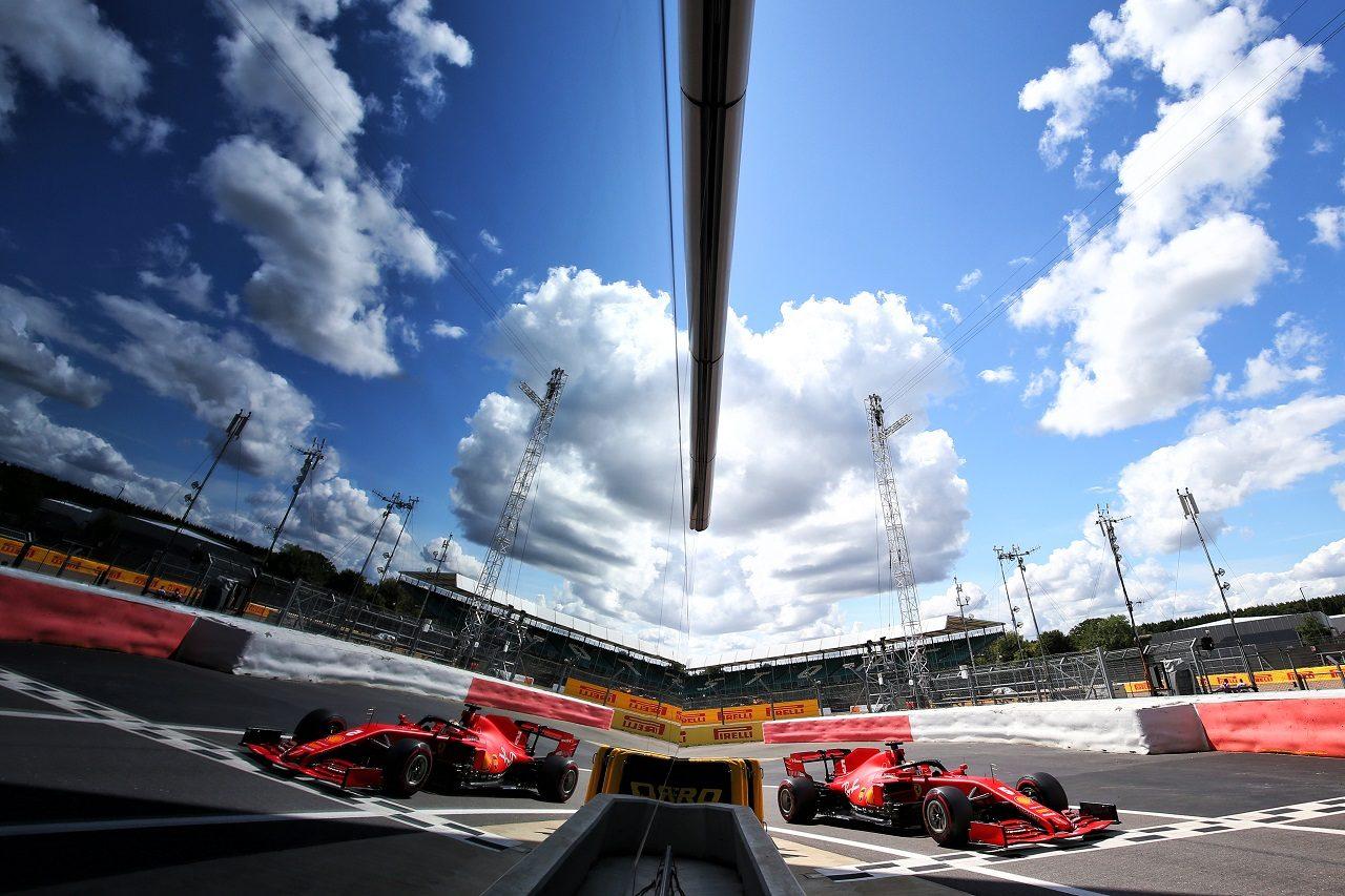 2020年F1第4戦イギリスGP セバスチャン・ベッテル(フェラーリ)