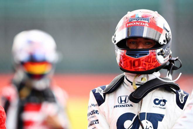 2020年F1第4戦イギリスGP ピエール・ガスリー(アルファタウリ・ホンダ)