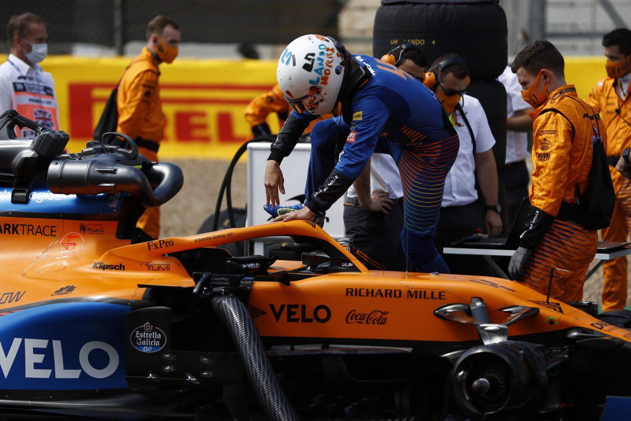 2020年F1第4戦イギリスGP ランド・ノリス(マクラーレン)