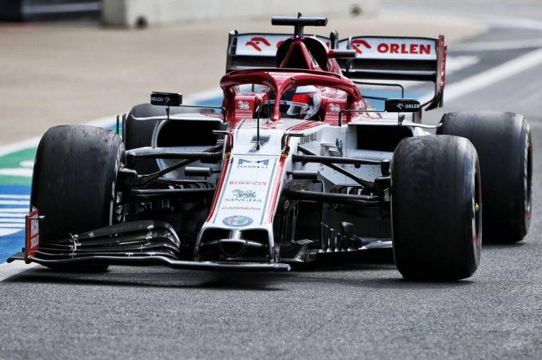 F1   ライコネン「ピットイン後のペースが遅すぎて、ライバルについて行けなかった」:アルファロメオ F1第4戦決勝