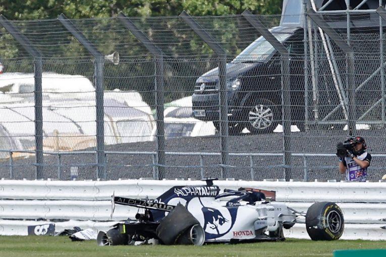 F1 | 【動画】全方向から見たクビアトの大クラッシュ。右リヤタイヤがパンクしコースオフ