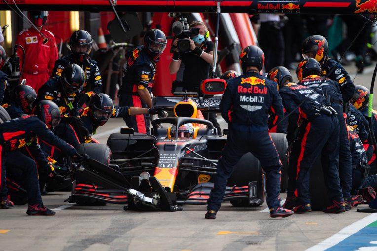F1 | 【気になる一言】パンクのリスクを避けたレッドブル陣営「外されたタイヤには、50個程度の切り傷があった」