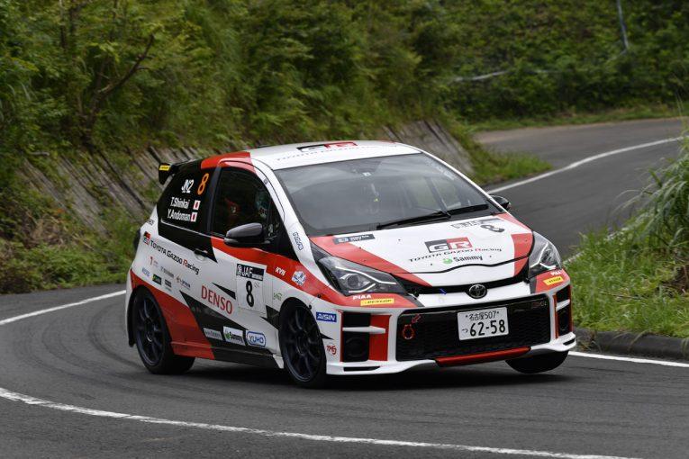ラリー/WRC | 全日本ラリー:トヨタ・ヴィッツGRMNラリー、デビュー地の丹後でクラス3位獲得