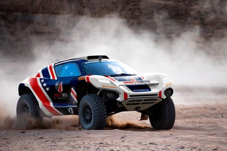 ラリー/WRC | エクストリームE:ユナイテッド・オートスポーツ、提携先のアンドレッティに参画しEVオフロード戦へ