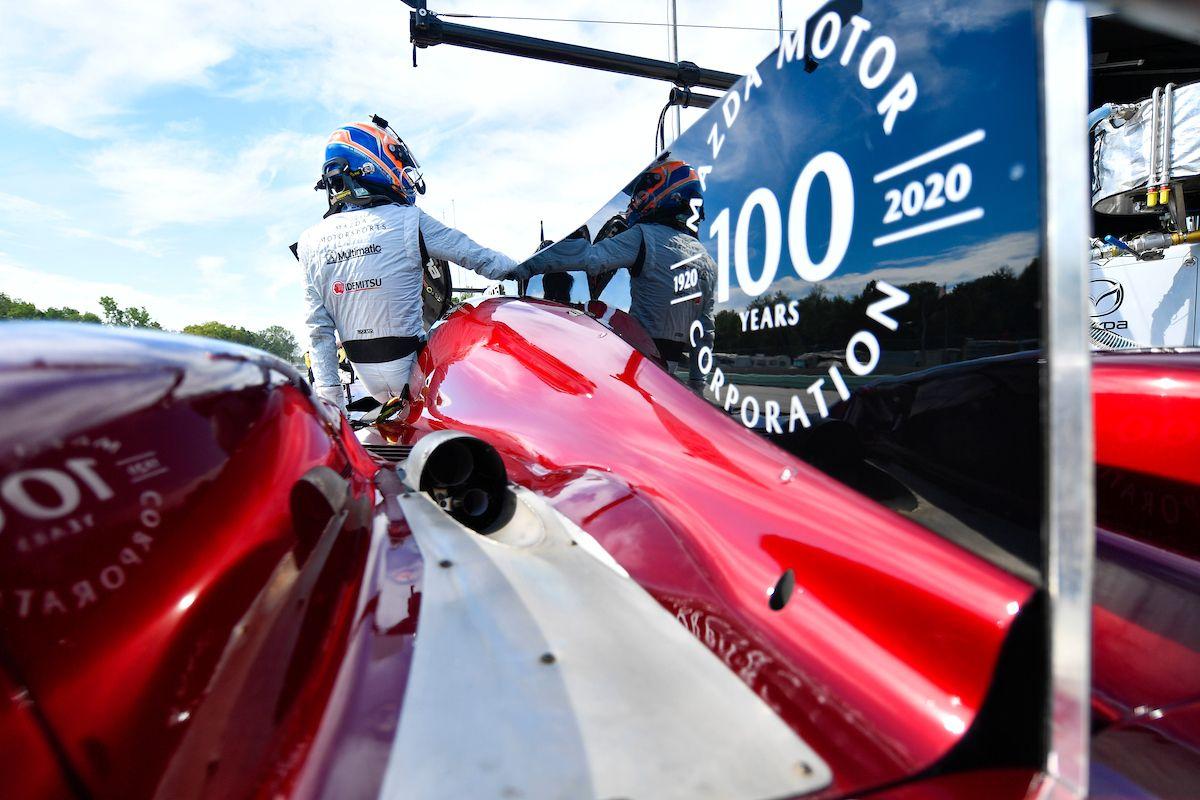 IMSA:マツダ、雨とピットタイミングの不運に泣き優勝逃す。ロード・アメリカは5、6位