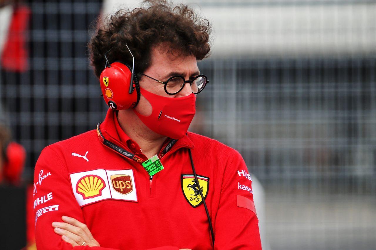 2020年F1ハンガリーGP フェラーリ代表マッティア・ビノット