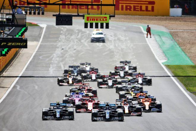 2020年F1第4戦イギリスGP レーススタートシーン