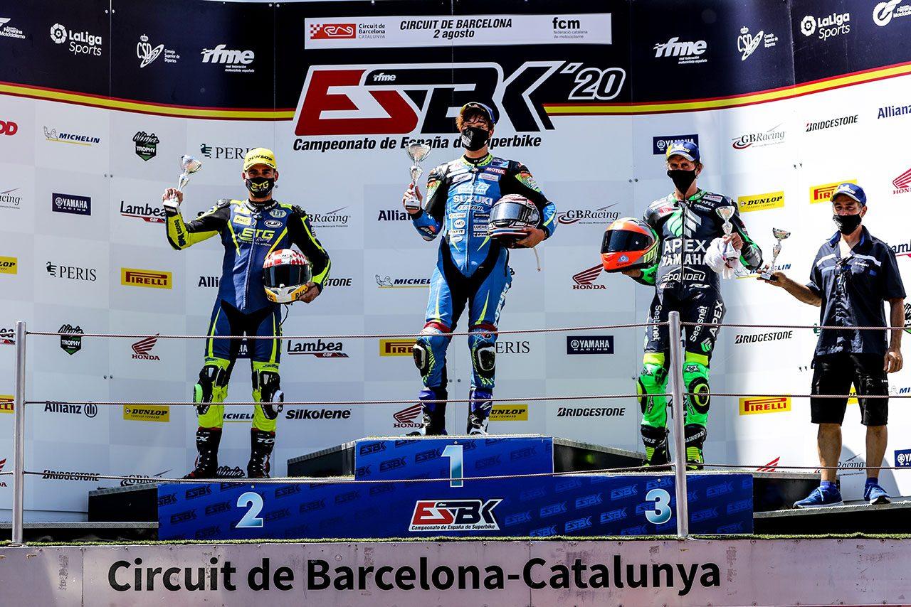 浦本修充がヨーロッパで初優勝 2020ESBK第2戦カタルーニャ レースレポート