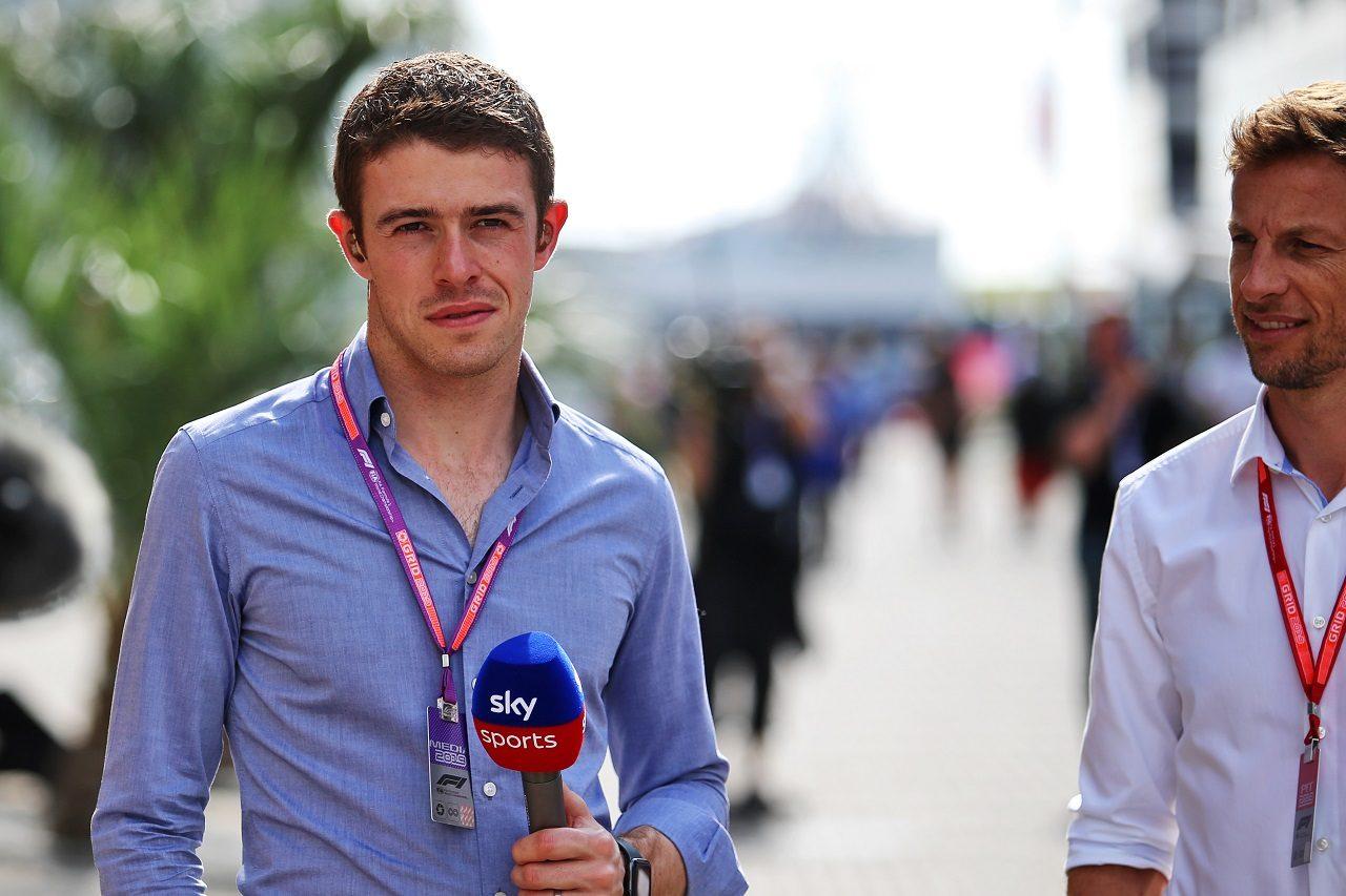 2019年ロシアGP F1解説者を務めるポール・ディ・レスタ