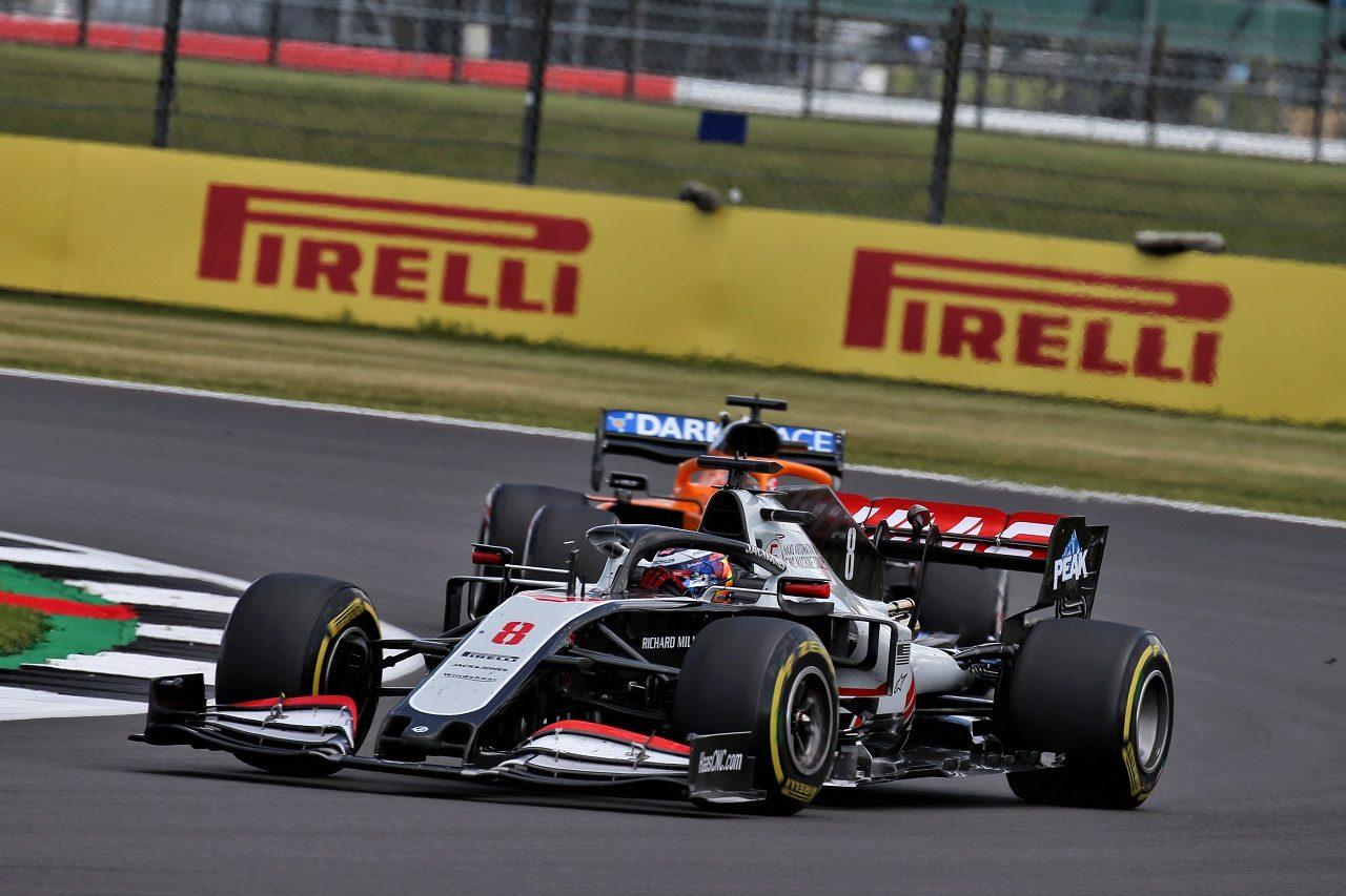 2020年F1第4戦イギリスGP ロマン・グロージャン(ハース)