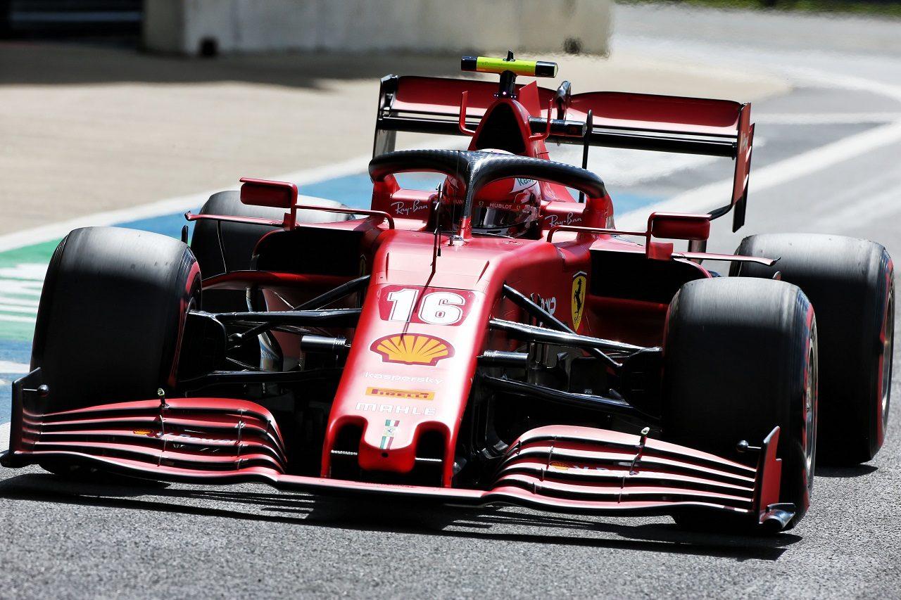 2020年F1第4戦イギリスGP シャルル・ルクレール(フェラーリ)