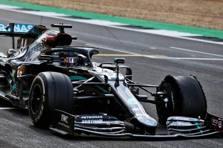 F1   【F1データ主義】メルセデスやマクラーレンを襲ったタイヤのパンク。ラップタイムから負荷を考察