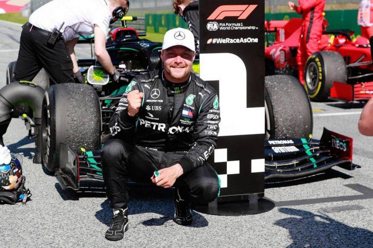 F1   メルセデスF1、バルテリ・ボッタスとの契約延長を発表。2021年もチーム残留へ